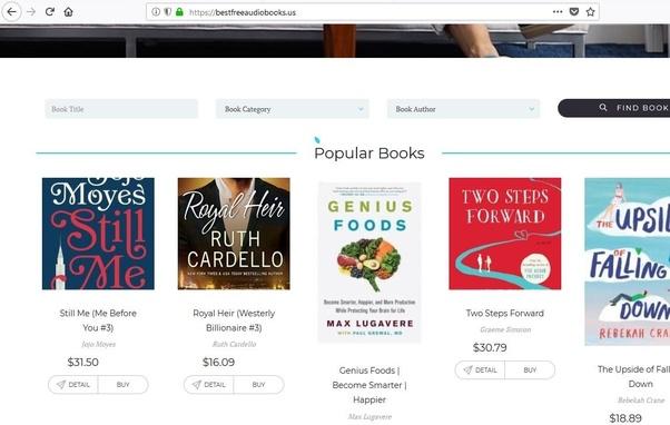 What are top free audio books sites? - Quora