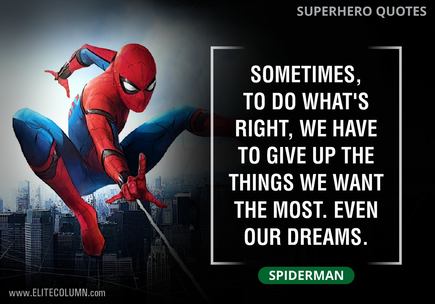 What Is The Best Superhero Movie Quote Quora