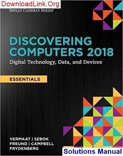 How To Download Discovering Computers Essentials 2018 Digital