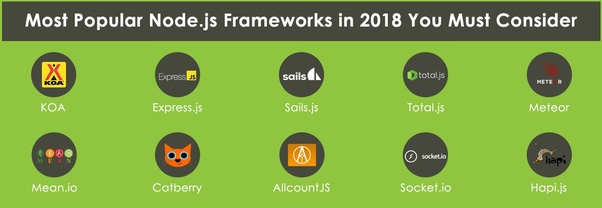 What is the best Node js framework to learn in 2018? - Quora
