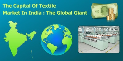 What will be the market cap of the textile industry in India