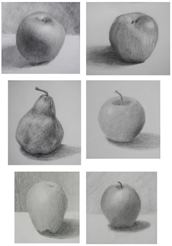 And Drawing Shapes Different Shading Of Those