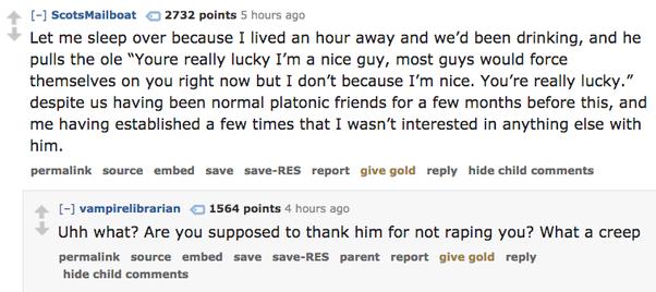 not a nice guy