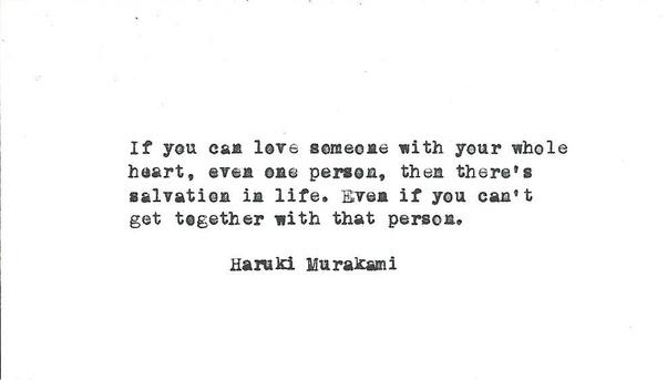 What Is Your Favorite Haruki Murakami Quote Quora