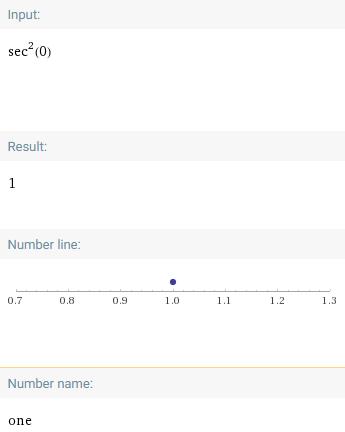 What Is Sec^2(0)? - Quora