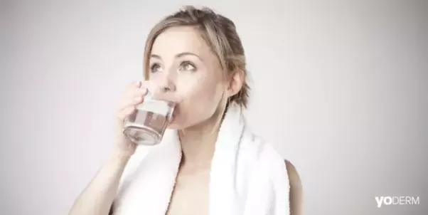 Will drinking water get rid of acne
