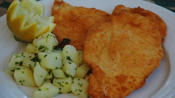 how to cook chicken schnitzel on the stove