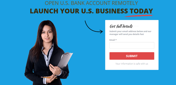 Which banks allow one to remotely open a US bank account for
