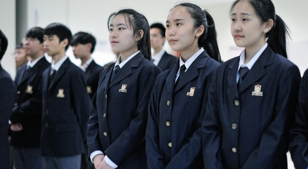 Why doesn't China have pretty school uniforms like Korea