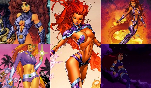 You See Starfire Is One Of Those Rare Characters Whose Sexuality A Part Her Character She Learns Languages Through Kissing And Costume