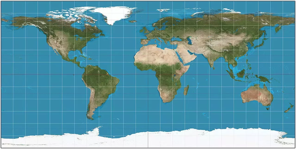 What If The World Map Was Upside Down Quora