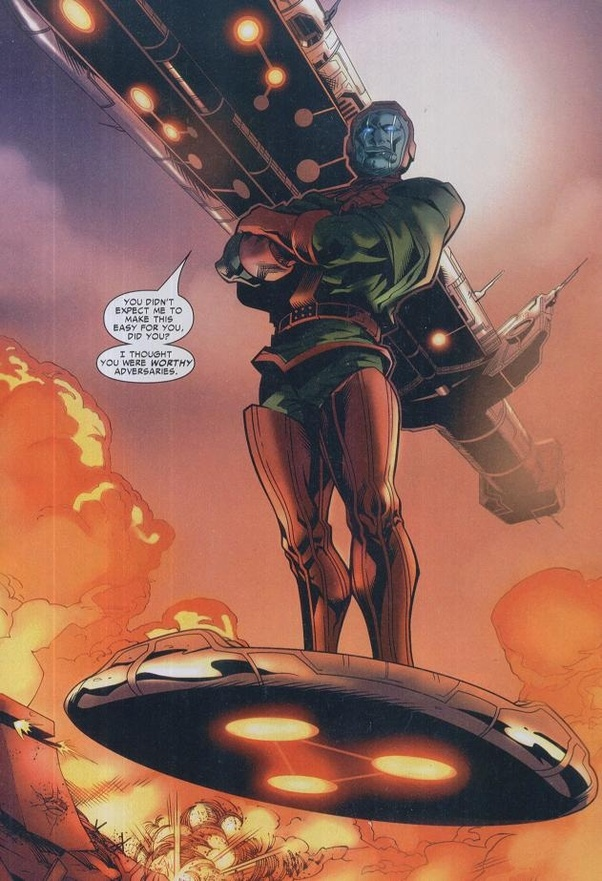 Image result for kang the conqueror time travel