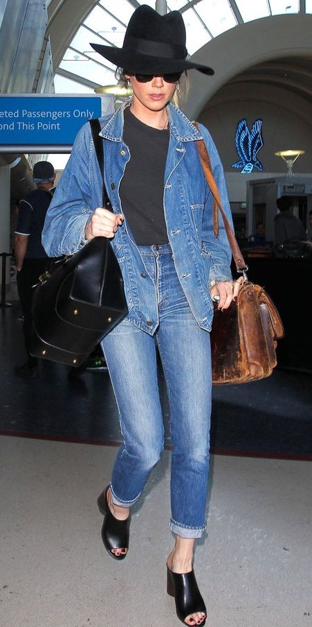 is it a fashion crime to wear a denim jacket with jeans quora