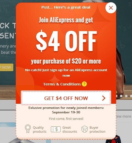 Aliexpress Coupon