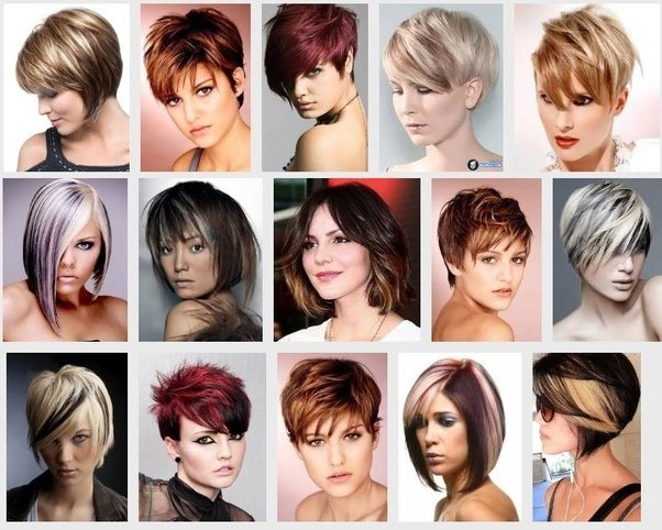 What are some hair color ideas for short hair? - Quora