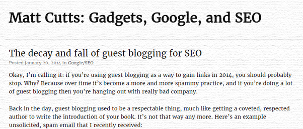 Why is guest blogging important in SEO? - Quora
