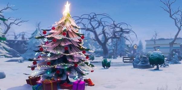 Fortnite Christmas.What Is Fortnite Like During Christmas Time Quora