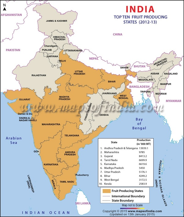 Which Is The Largest Lemon Producing State In India Quora
