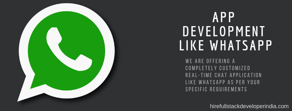 What does it cost to develop an app like WhatsApp? - Quora