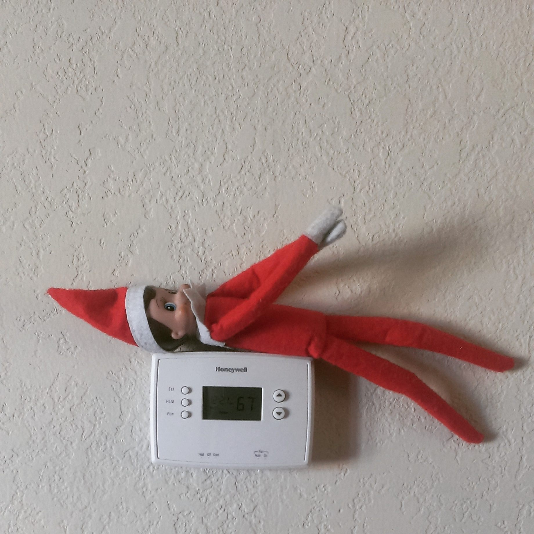 What should you do if your kid catches you hiding the Elf on