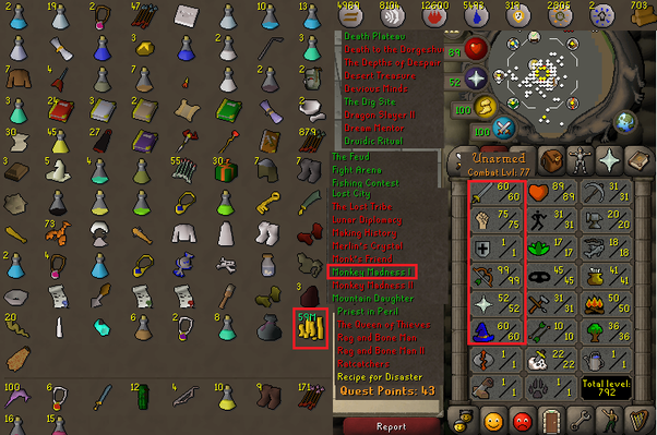 RuneScape: I want to create a F2P strength pure account, who