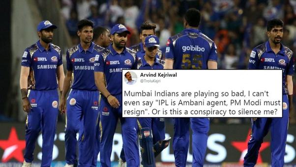 What are some good jokes on the Mumbai Indians- IPL team