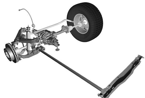 How do torsion bar suspensions work quora image from torsion bar springs torsion bar and independent suspension 4 wheel and offroad magazine publicscrutiny Images