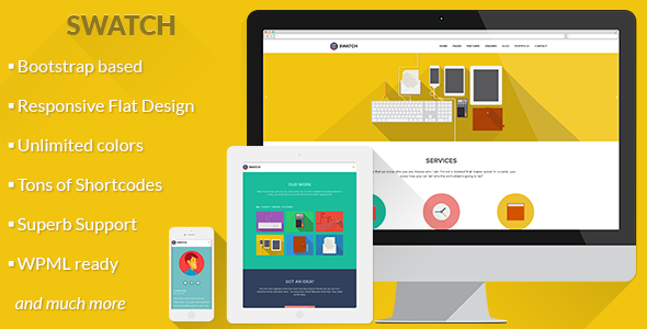 Latest Responsive WordPress Bootstrap 3 Themes ... - Popular ...