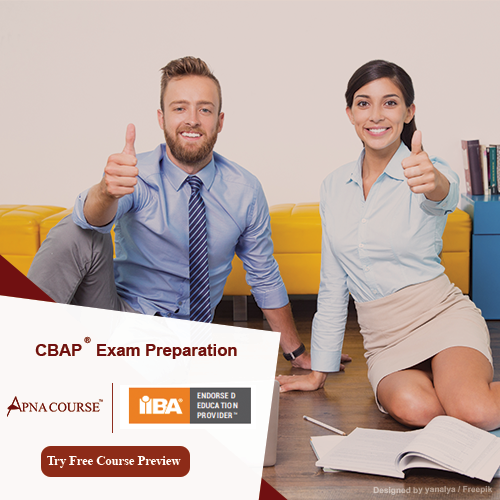 Which is the best course to take before CBAP exam for better