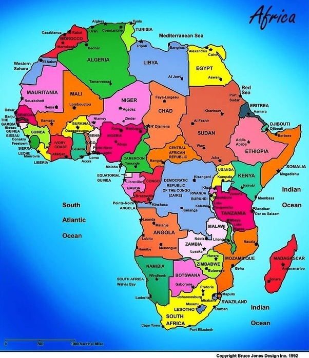Why is Africa not a country