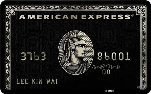 What are some rumors about the benefits of the AMEX black card