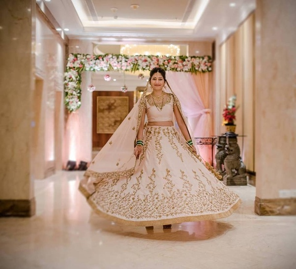 Which coloured lehenga suits with black blouse? - Quora