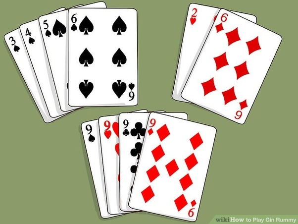 Knocking In Gin Rummy