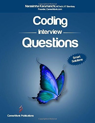 what books should i buy for coding interview questions or data