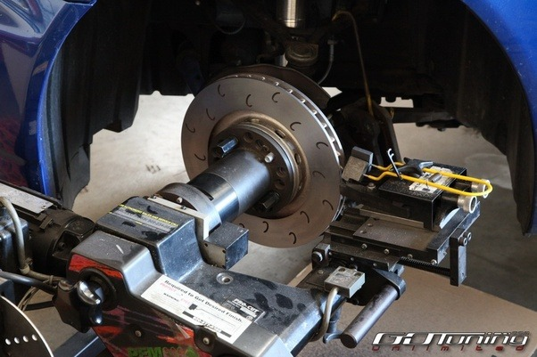 how to turn rotors on a car