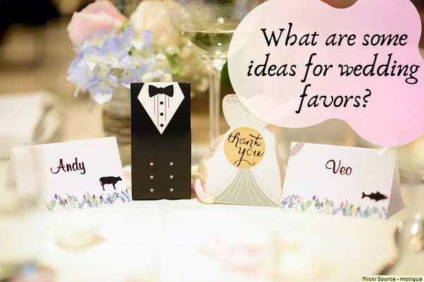 What Are Some Ideas For Wedding Favors Quora