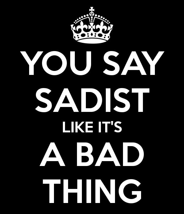 sadism origin