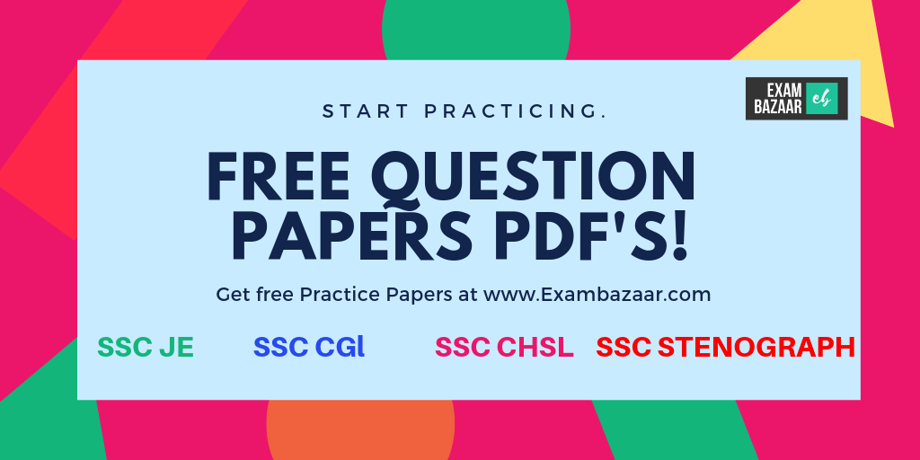 Paper ssc je pdf question