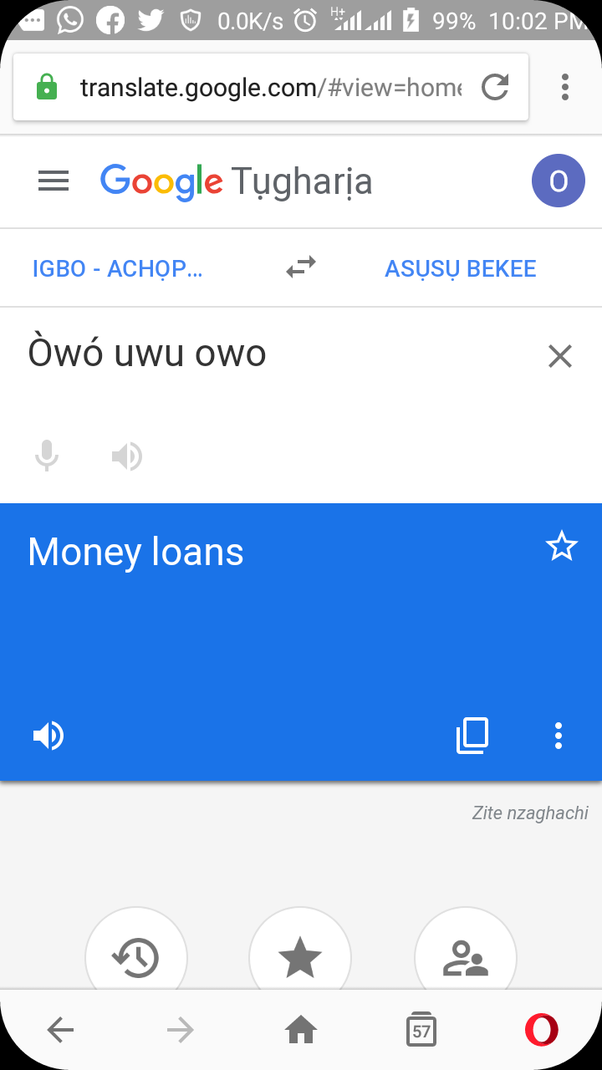 Igbo speakers, why does owo uwu owo translate into 'human