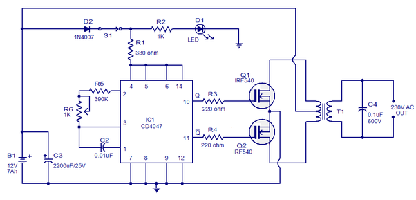 Can I Drive A Irf540 Mosfet Using A 555 Timer Directly Without Using