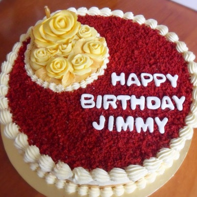 Terrific Where Does One Get The Best Moist Flavoursome Red Velvet Cake In Personalised Birthday Cards Xaembasilily Jamesorg