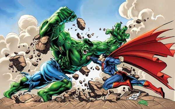 As The Extra Details Ask For A Straight Out Brawl With No Depowering Strategies And Includes Pre Crisis Superman Hulk Of Any Era This Becomes