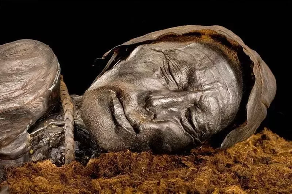 What are some reasons why a buried corpse won't decay other