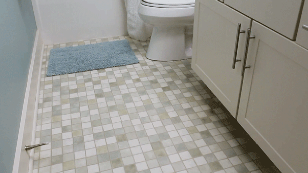 What Is The Solution To Remove Patches From Bathroom Tiles