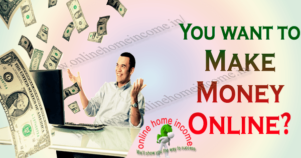 how to make money while sitting at home
