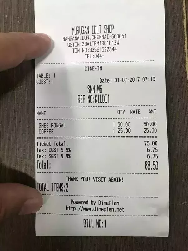 How is the gst invoice format for a restaurant quora for Interior decoration hsn code gst