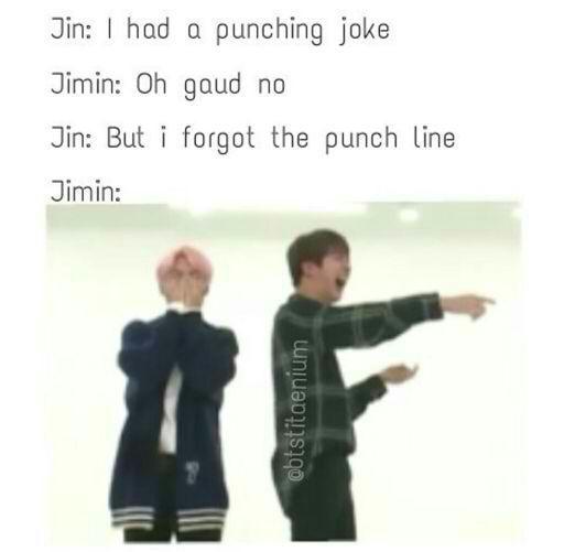 What is BTS Kim Seok Jin's funniest dad joke? - Quora