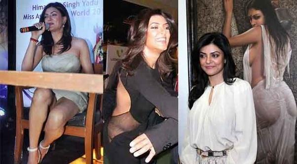 Momen Foto memalukan Artis Bollywood, sushmita sen Malunya Tingkat Dewa
