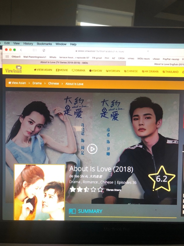 "Where can I watch the Chinese drama ""About Is Love"" with"