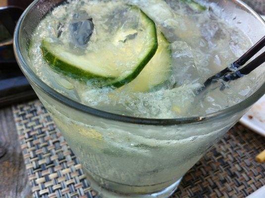 Pearl Cucumber Vodka Mixed Drinks